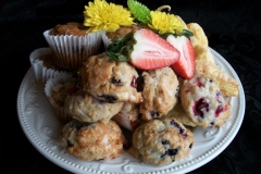 Muffins, Scones, Danishes